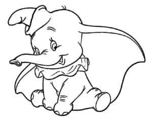 Слоник с большими ушами