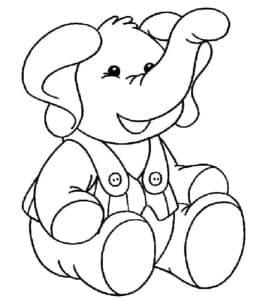 слоник в комбинезоне