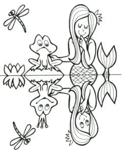 Лягушка и русалка