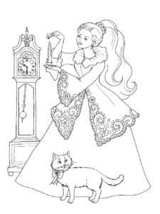 Принцесса и часы