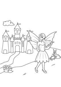 Фея и замок
