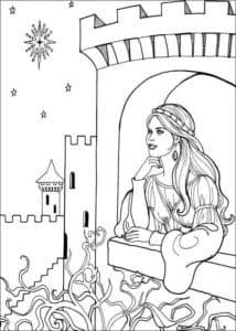 Девушка в замке