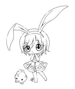Девочка с большими ушами