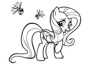 маленькая пони и комары
