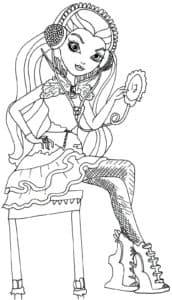 Девушка в наушниках