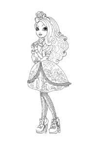Девочка в платье антистресс