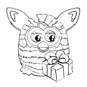 Ферби Бум и подарок