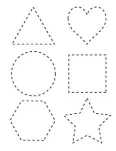 фигуры раскраска по точкам