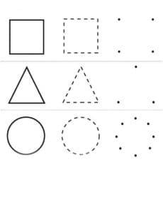 формы геометрических фигур