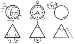 фигуры разной формы