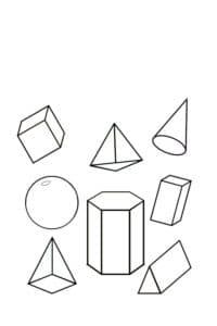 фигуры геометрические 3Д