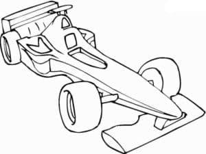 гоночная машина низкая