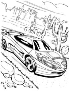 Гоночная машина купе