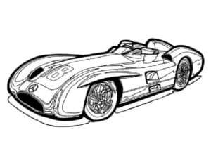 раскраска для мальчиков гоночная машина