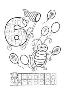 шесть воздушных шаров