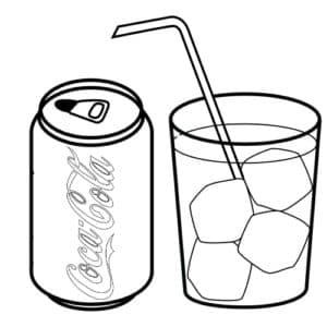 Кока кола и лед
