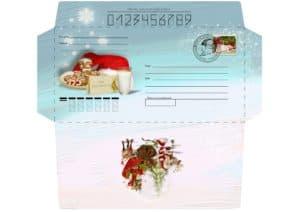 конверт на новый год