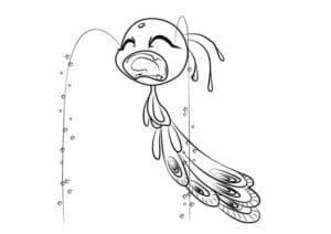 плачущее существо
