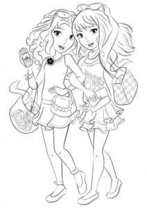Модницы сестры