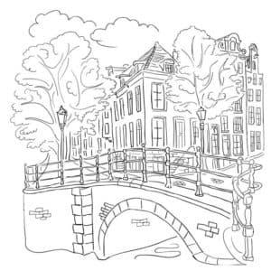 мост и дом