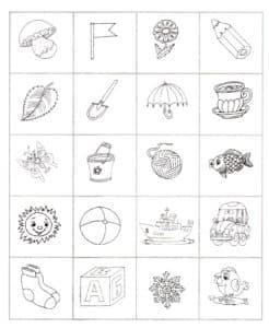 логическая раскраска для детей