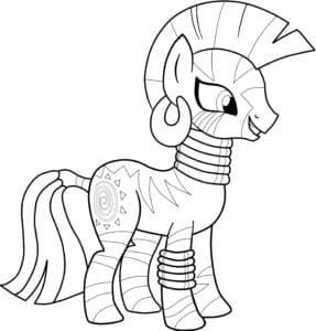 май литал пони с ирокезом