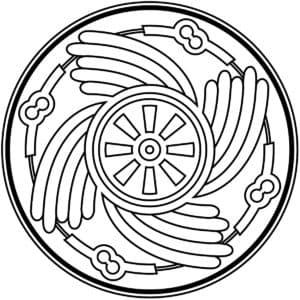 мандала круг в круге