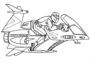 Летающий мотоцикл будущего