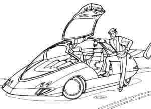 спортивный автомобиль будущего