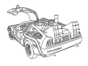 красивый автомобиль будущего