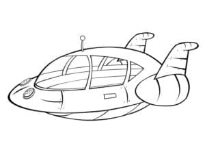 летающая тарелка будущего
