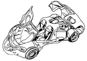 быстрый автомобиль будущего