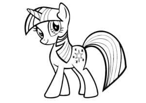 лошадка из мультика