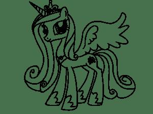 пони с короной