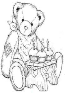 Медведь с пасхами