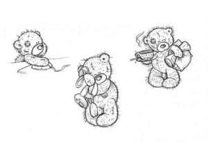 Три маленьких медвежонка