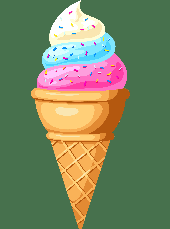 Раскраска Мороженое