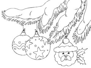 гирлянды на елке