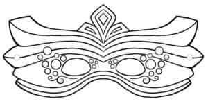 маска для нового года детская