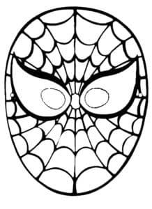 маска человек паук
