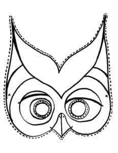 маска сова