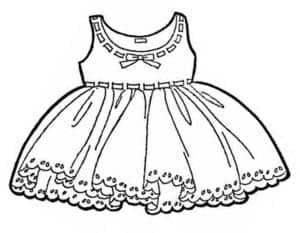 платье широкое