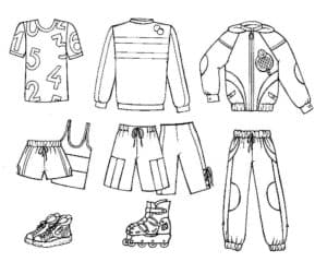 одежда и ролики
