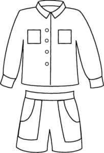 куртка и шорты для мальчика