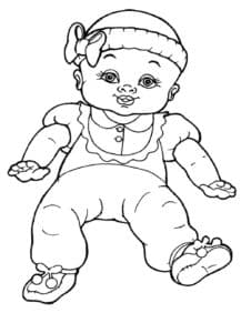 Игрушечный ребенок