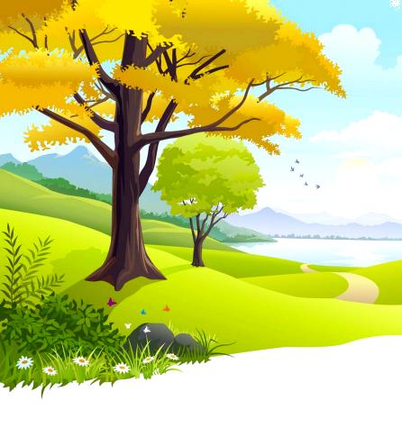 Раскраски Пейзаж