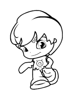 Мальчик пинипон