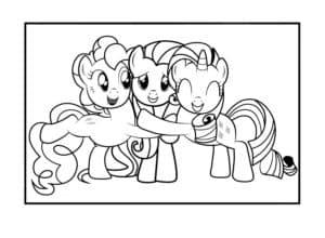 Пинки Пай и подружки