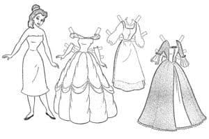 Девушка и три платья