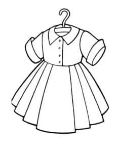 платье на тремпеле